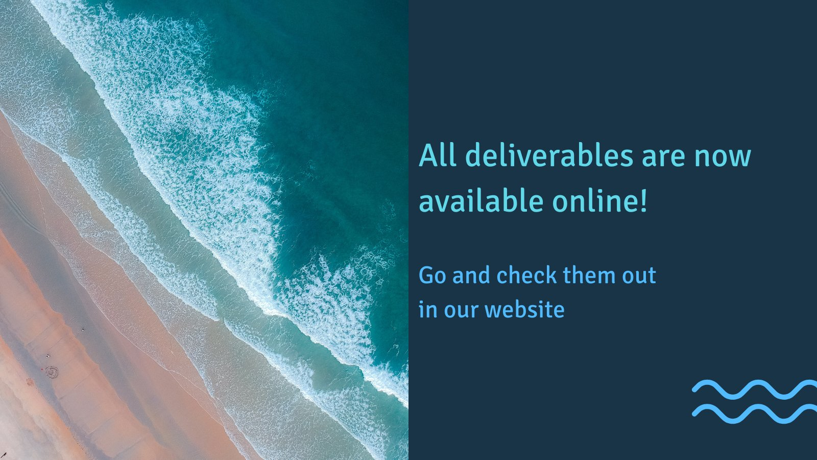 All deliverables are available online!