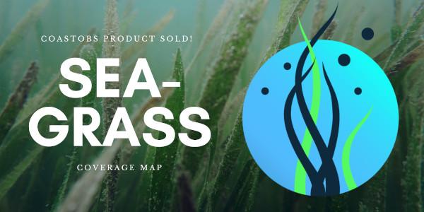 Sea-grass coverage map